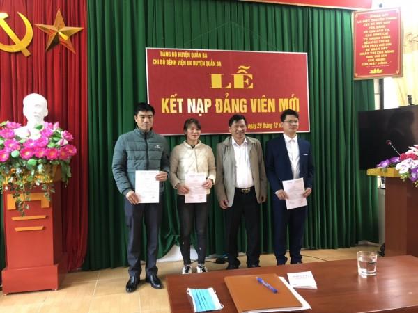 Phát triển Đảng viên tại BVĐK huyện Quản Bạ