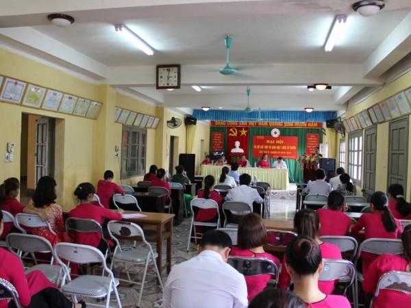 Đại hội chi hội chữ thập đỏ bệnh viện Y Dược Cổ Truyền lần thứ II nhiệm kỳ 2016-2018
